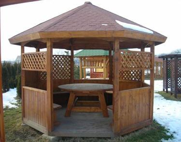 les types de gloriette guide de construction des gloriettes kiosques et gazebos. Black Bedroom Furniture Sets. Home Design Ideas
