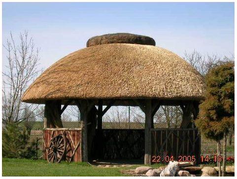 La gloriette arrondie guide de construction des for Construire un kiosque en bois